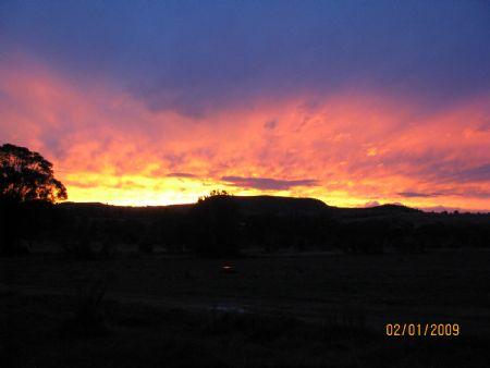 Sunset taken from my lounge window