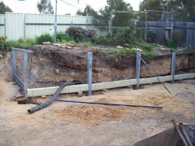 how to put post in ground with concrete easy